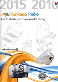 katalog nahradnych dielov pre príslušenstvo frankana