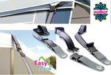Walker Easy Lock-španovacie pásy pre clonu