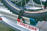 Ukončenie lyžiny Carry-bike - modré