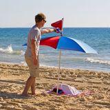 Plážový držiak dáždnika