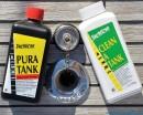 Dezinfekcia vody a nádrží,nemrznúce zmesi