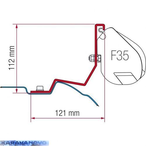 Kit F35 Pro pre Mercedes Viano, Marco Polo