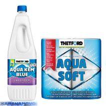 Aqua Kem set - Levandula 2l +Aqua Soft