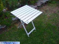 Hliníkový stolík - skladací