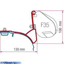 Kit F35 Pro pre VW T5/T6 s ALU strešnou lištou