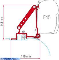 Kit F45 pre Fiat Ducato do r.v.-03/2006