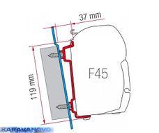 Kit F45 pre Ford Transit, Mercedes Sprinter, VW Caddy.