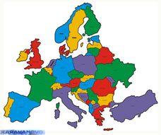 Samolepka Europa