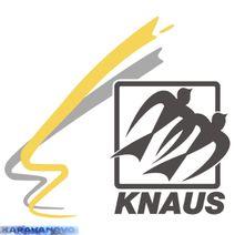 Samolepka Knaus s grafikou