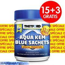 Thetford Aqua Kem Sachets 15+3 ks