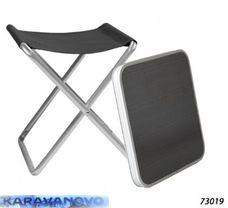 Skladacia kempingová stolička/príručný stolík