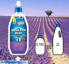 Thetford Aqua Kem Blue Levanduľa koncentrát 0,78l