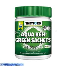 Thetford Aqua Kem Green sáčky- 15 ks
