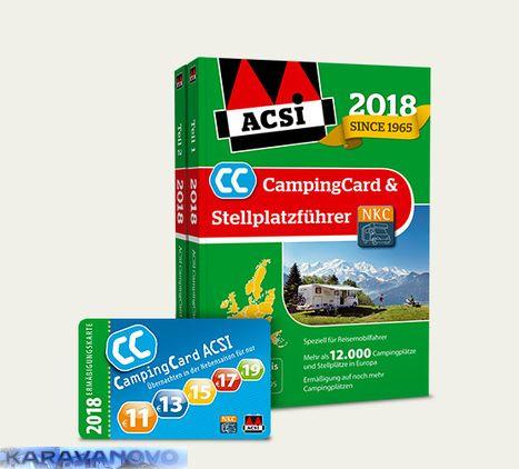 ACSI Camping Card and Stellplatzfuhrer 2018