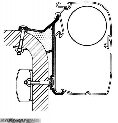 Adaptér Hymer B2-Klasse