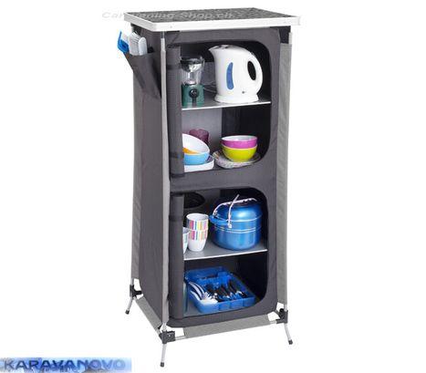 Camping Cabinet Storax HS - policový kuchynský blok