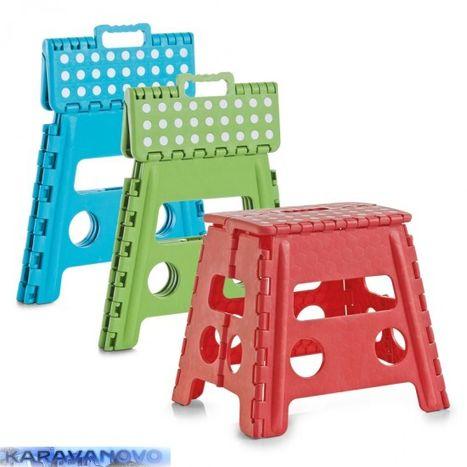 Color - skladacia stolička