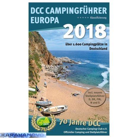 DCC - Campingfuhrer Europa 2018