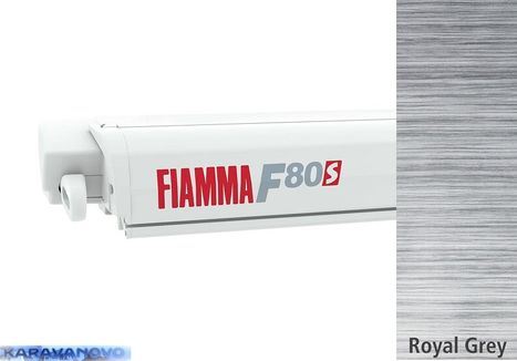 Fiammastore F80 S - Polar White - Royal Grey