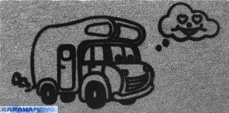 Koberec Derby Flock - obytné auto