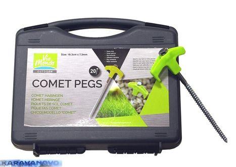 Kolík Comet Pegs 18 cm - 20 ks v kufríku