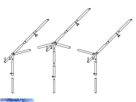 Konštrukcia k predstanu Doréma President 250, XL 280 a XL 300 pre velk. č. 6 - 9