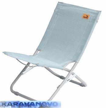 Plážová stolička Wave - slabo modrá
