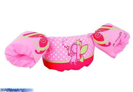 Rukáviky na plávanie - ružové