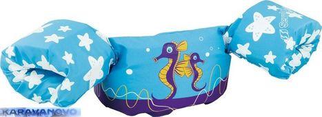 Rukáviky na plávanie - modré