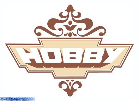 Samolepka Hobby - pred r.v.90