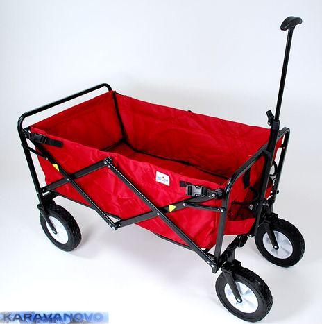Skladací transportný vozík