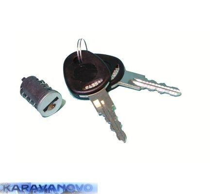 STS zámok Knaus + 2 ks kľúčov
