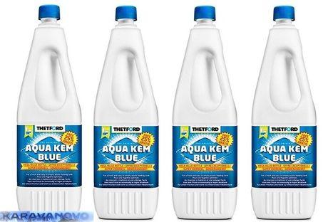 Thetford Aqua Kem Blue SET - 4 X 2,5 l