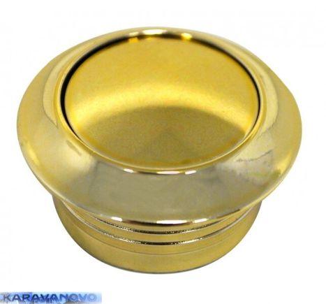 Tlačítko zámku Push-Lock - zlaté