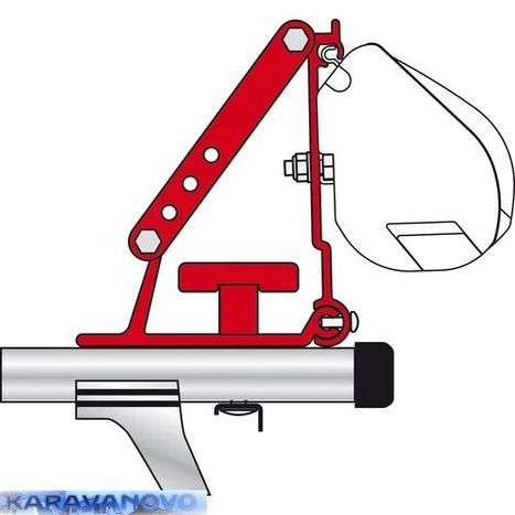 Univerzálny adaptér pre Fiamma F35 Pro Kit Auto