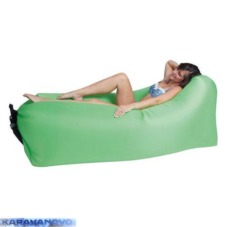 Vzduchový sedací vak - zelený
