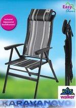 Walker kempingová stolička Kapas-Black