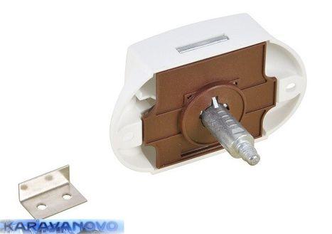 Zámok Push - Lock - biela